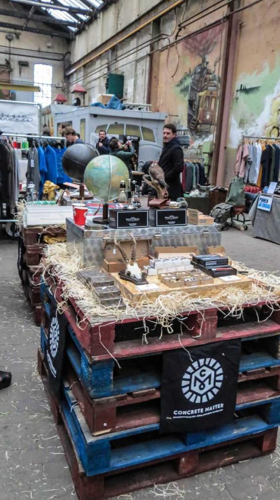 A vendors wares.