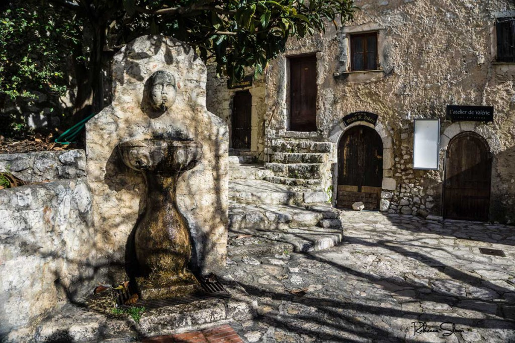 A fountain in eze