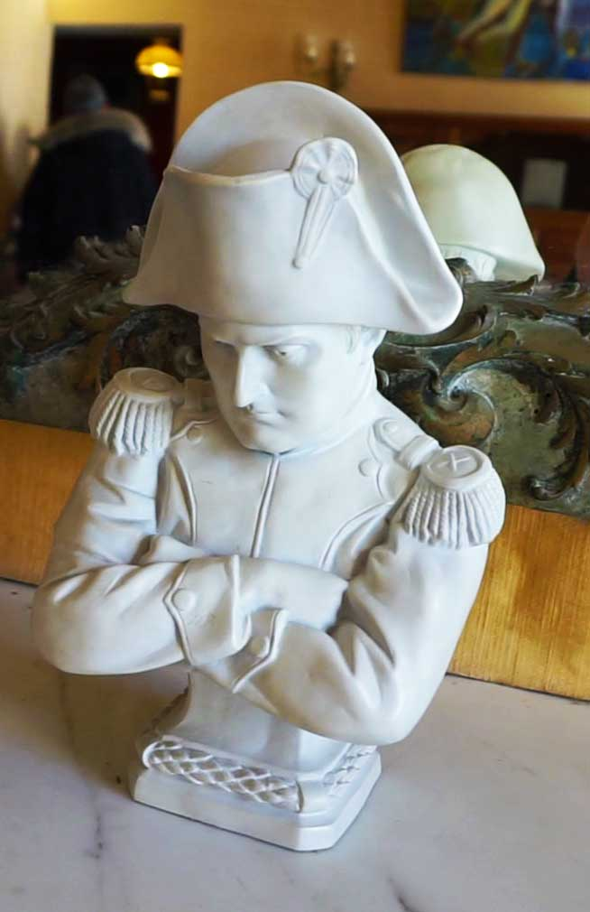 Napoleon figurine.