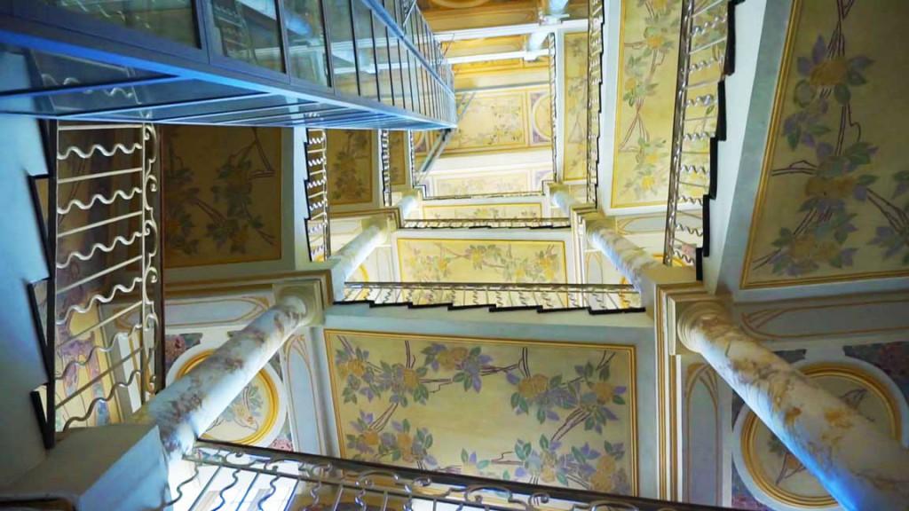 Napoleon stairway
