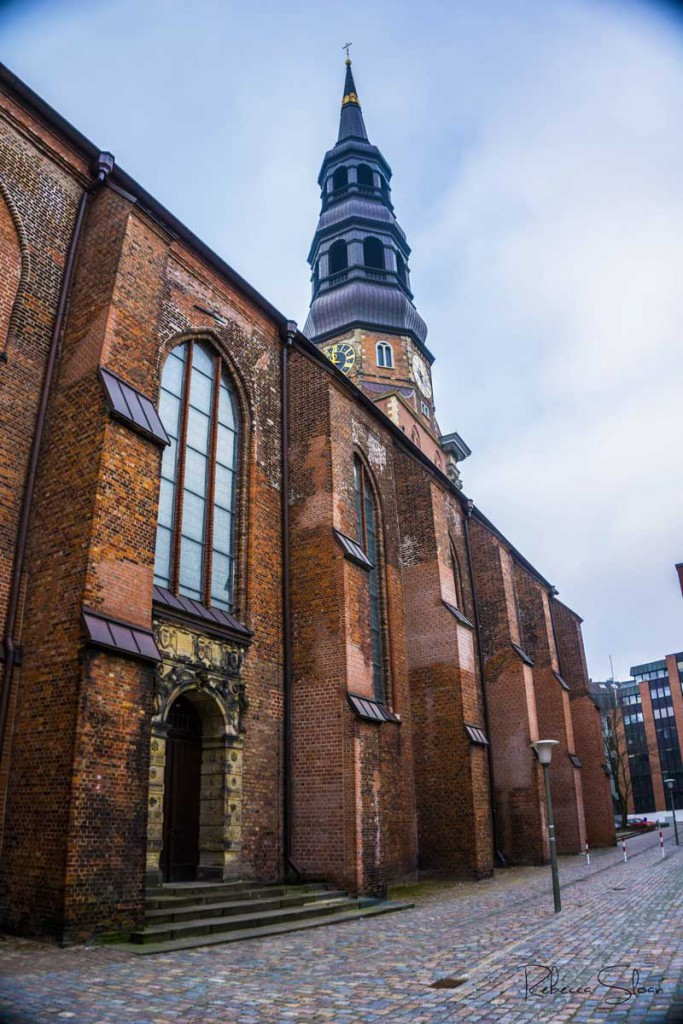 A church in Hamburg, Germany.