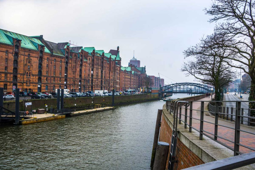 Hamburg's old town
