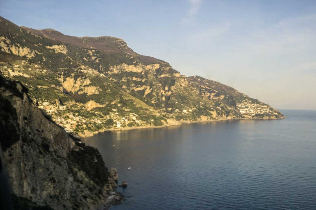 The Amalfi Coastline