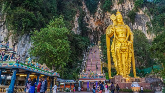 Exploring the Batu Caves